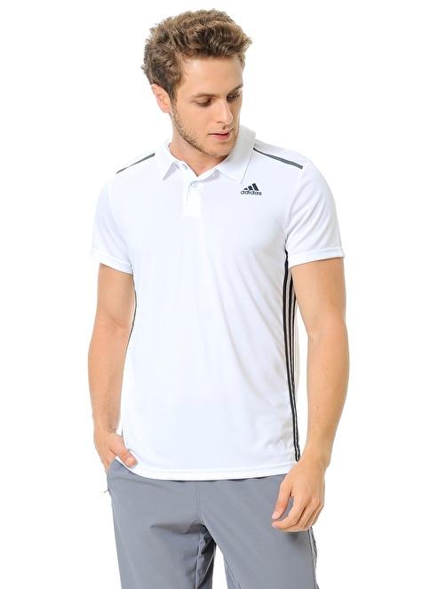 adidas Polo Yaka Tişört Beyaz